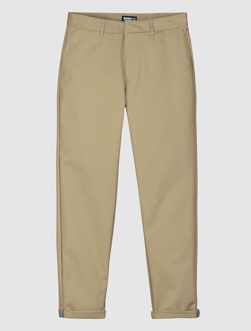 Pantalon en coton tapered homme