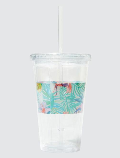 Mug Plastique Flamand Rose femme