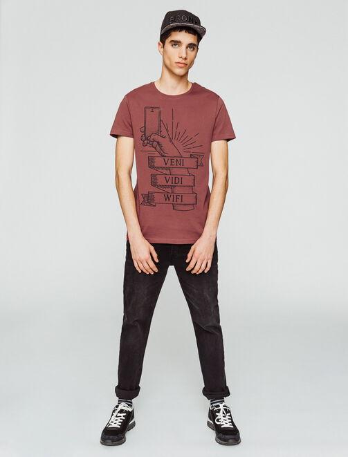 """T-shirt """"Veni, Vidi, Wifi"""" homme"""