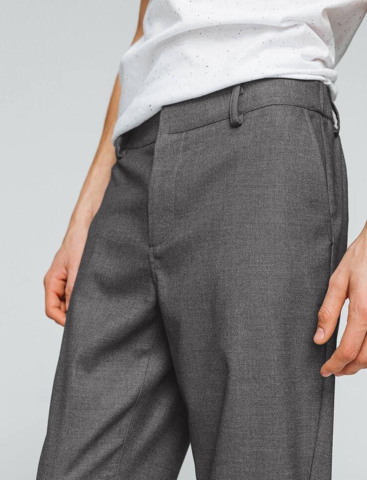 pantalon de ville fluide homme gris chin moyen bizzbee. Black Bedroom Furniture Sets. Home Design Ideas