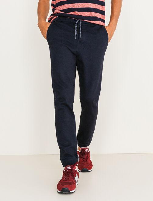 Pantalon coupe jogger homme