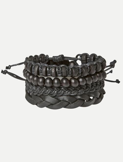 Set de bracelets homme