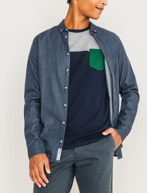 T-shirt color-block homme