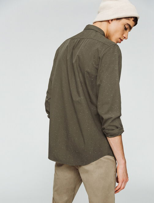 Chemise chinée fantaisie homme