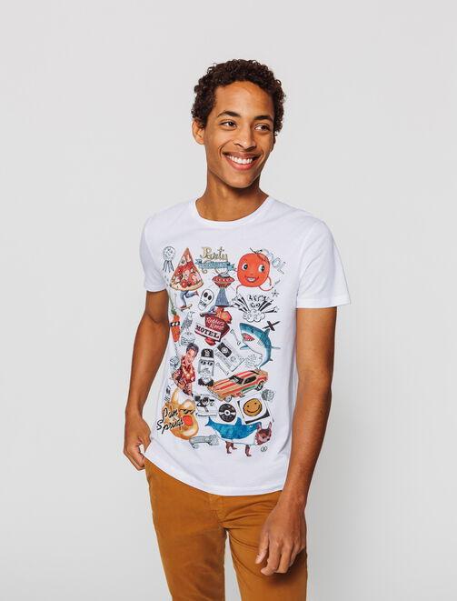 T-shirt imprimé  homme