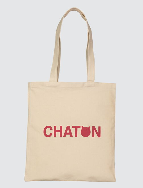 Tote bag Chaton femme