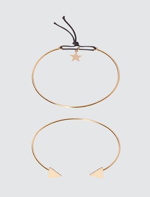 Bracelets Rigides Or femme