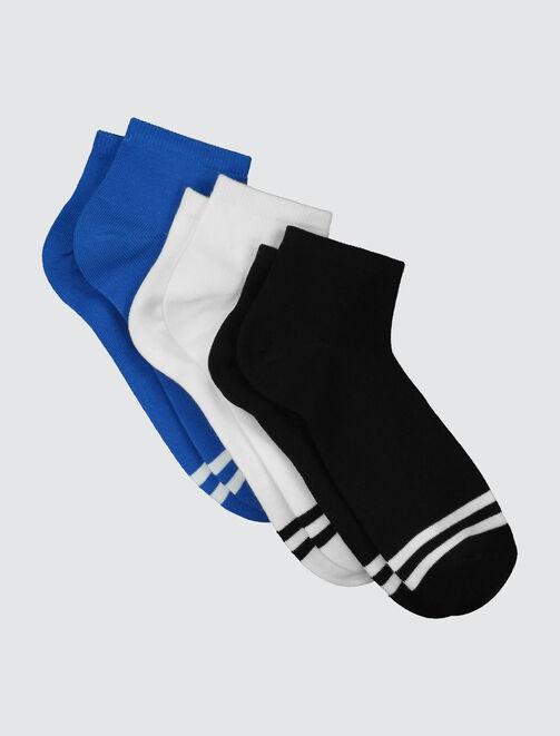 Lot de 3 chaussettes sport homme