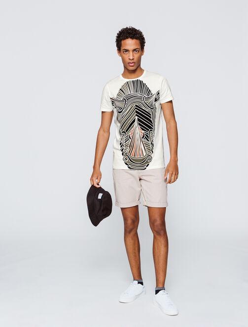 T-shirt Rhinocéros géant homme
