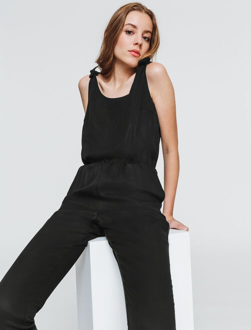 Combi-pantalon tencel  femme