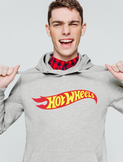 Sweat licence Hot Wheels homme