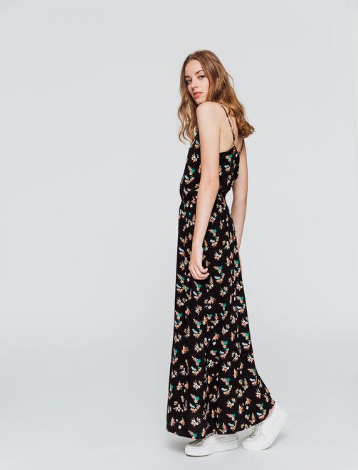 Robe longue imprimée  femme