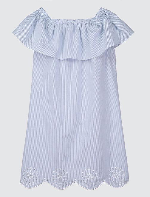 Robe épaules dénudées  femme