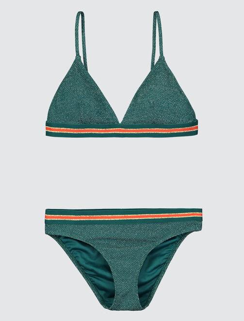 Bikini à Elastique Sport Lurex femme