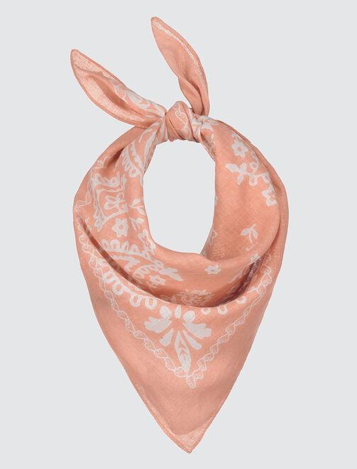 Foulard léger bandana femme