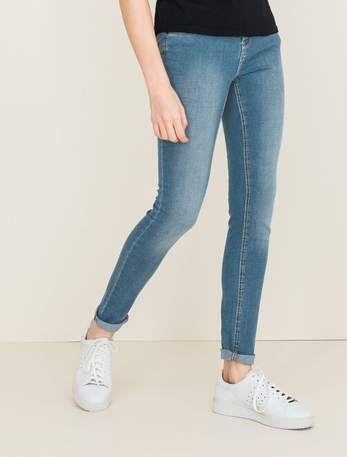 Jeans skinny taille standard femme