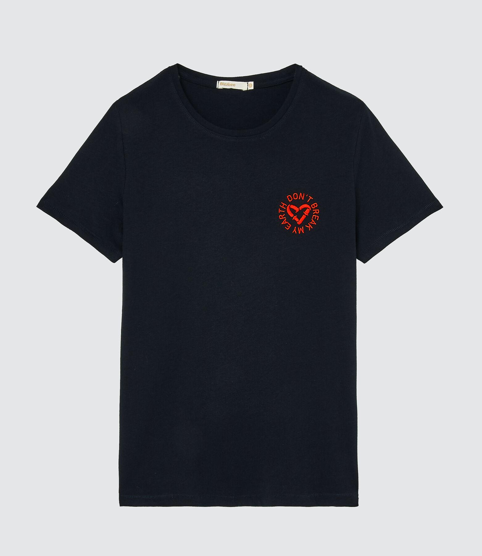 "T-shirt ""Don't break my earth"" en coton IAB"