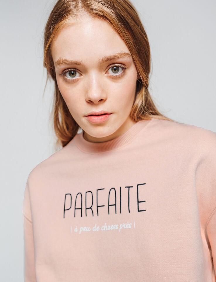 "Sweat message ""Parfaite"""
