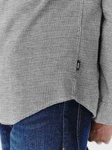 Chemise carreaux pied de puce
