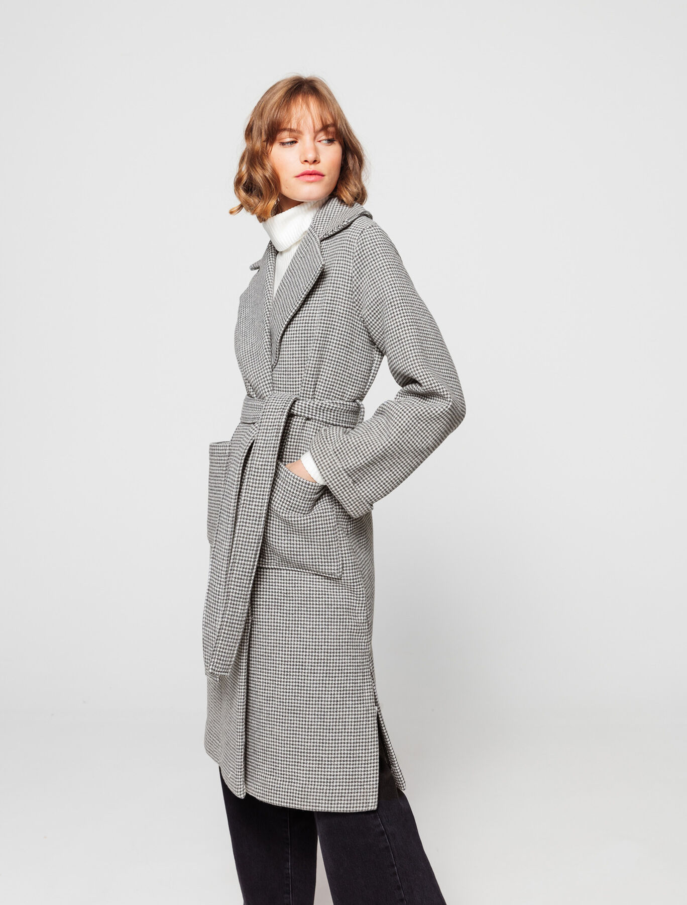 Manteau Long en Laine