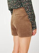 Jupe Short Velours Coton Bio