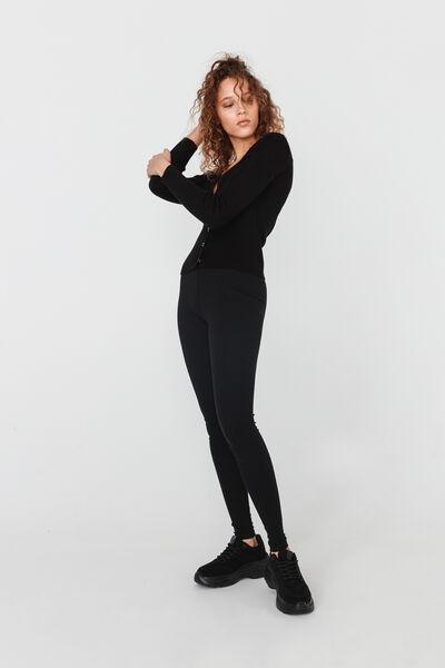 Legging Côtelé