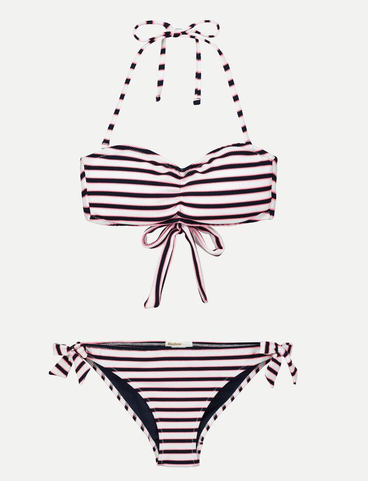 Culotte de maillot de bain marinière