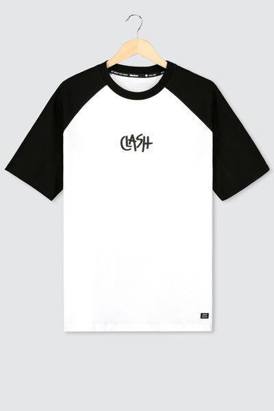 """T-shirt raglan """"clash"""""""