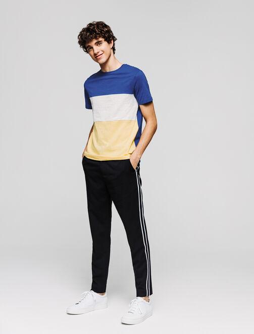 T-shirt colorblock  homme