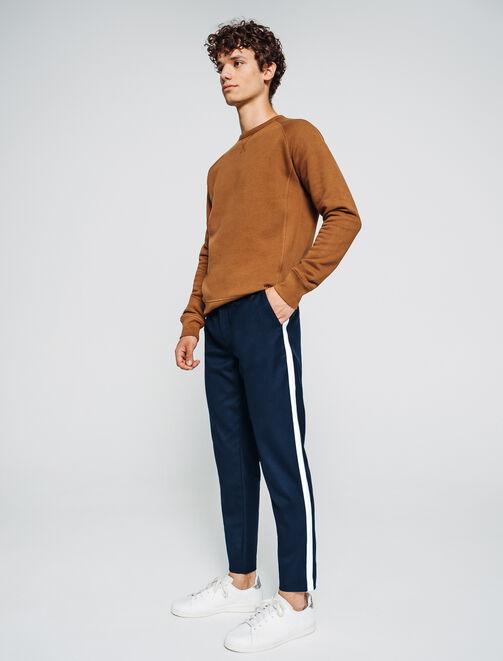 Pantalon sportswear à bandes homme
