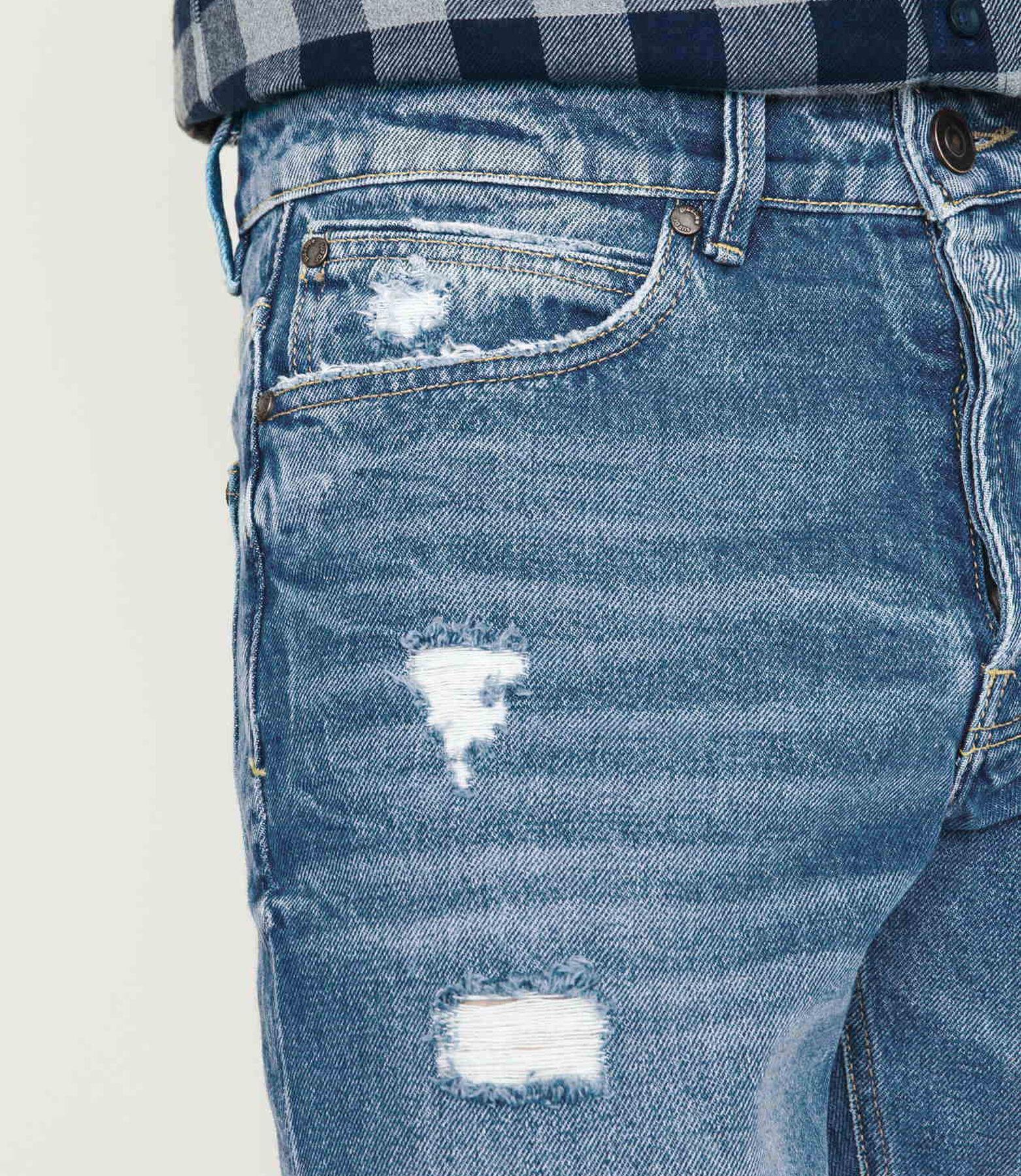 Jean straight tapered raccourci