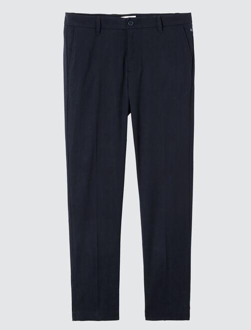 Pantalon de ville cropped homme