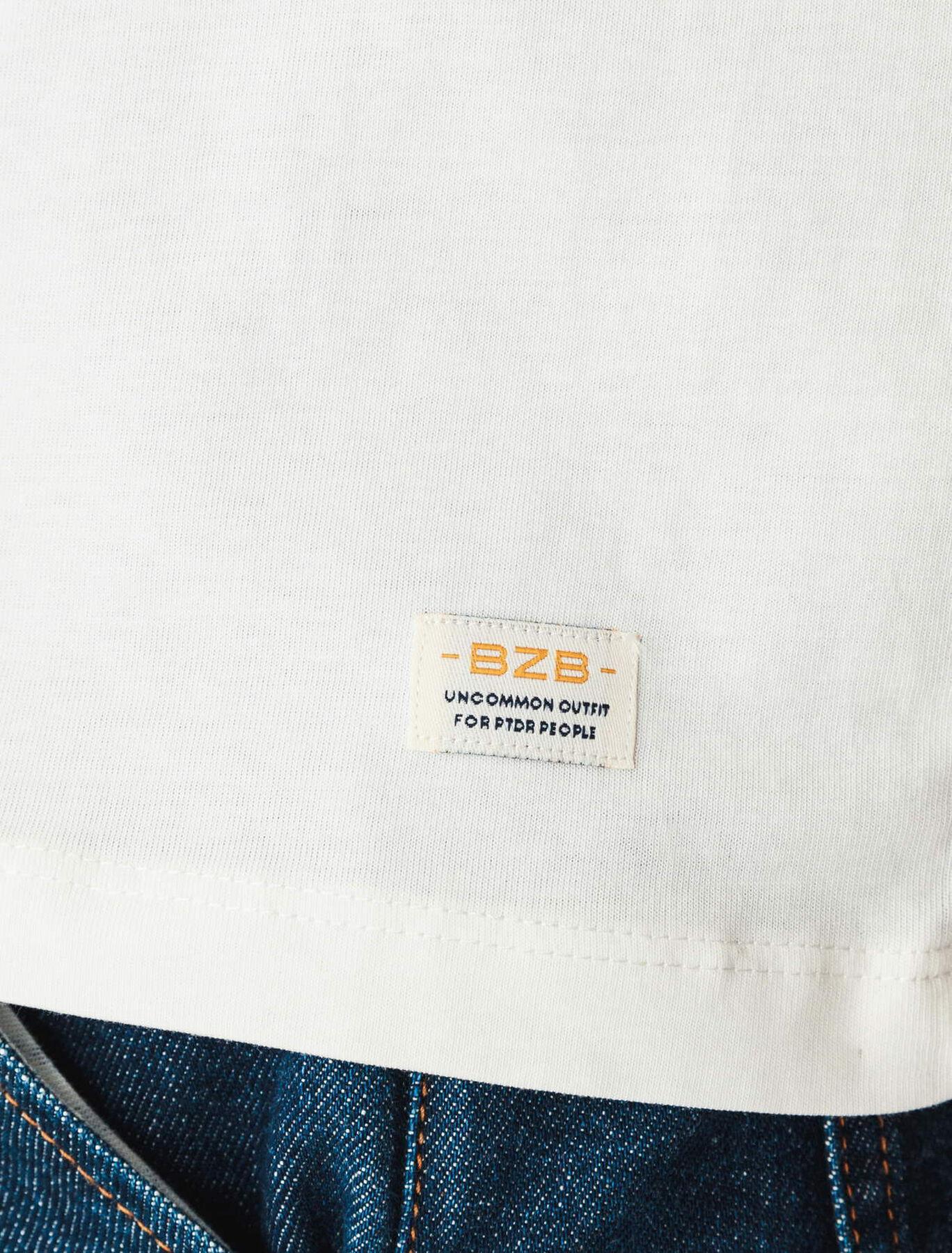 T-shirt humour mouette en coton BIO