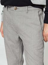 Pantalon chambray