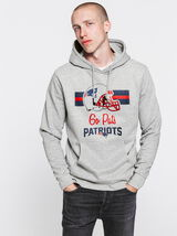 "Sweat enfilé capuche ""Patriots"""
