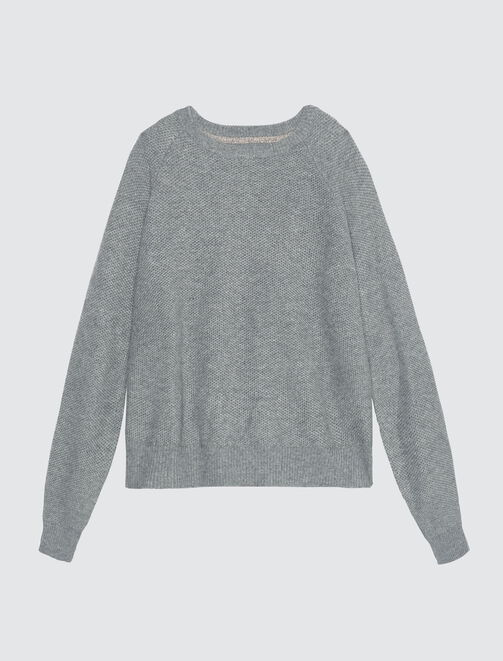 Pull ouverture dos  femme