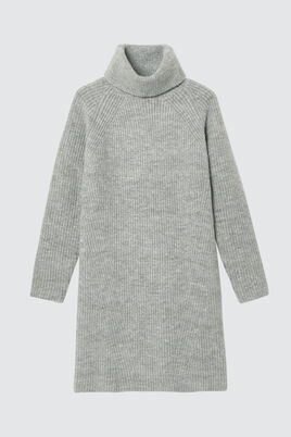 Robe Pull Col Roulé
