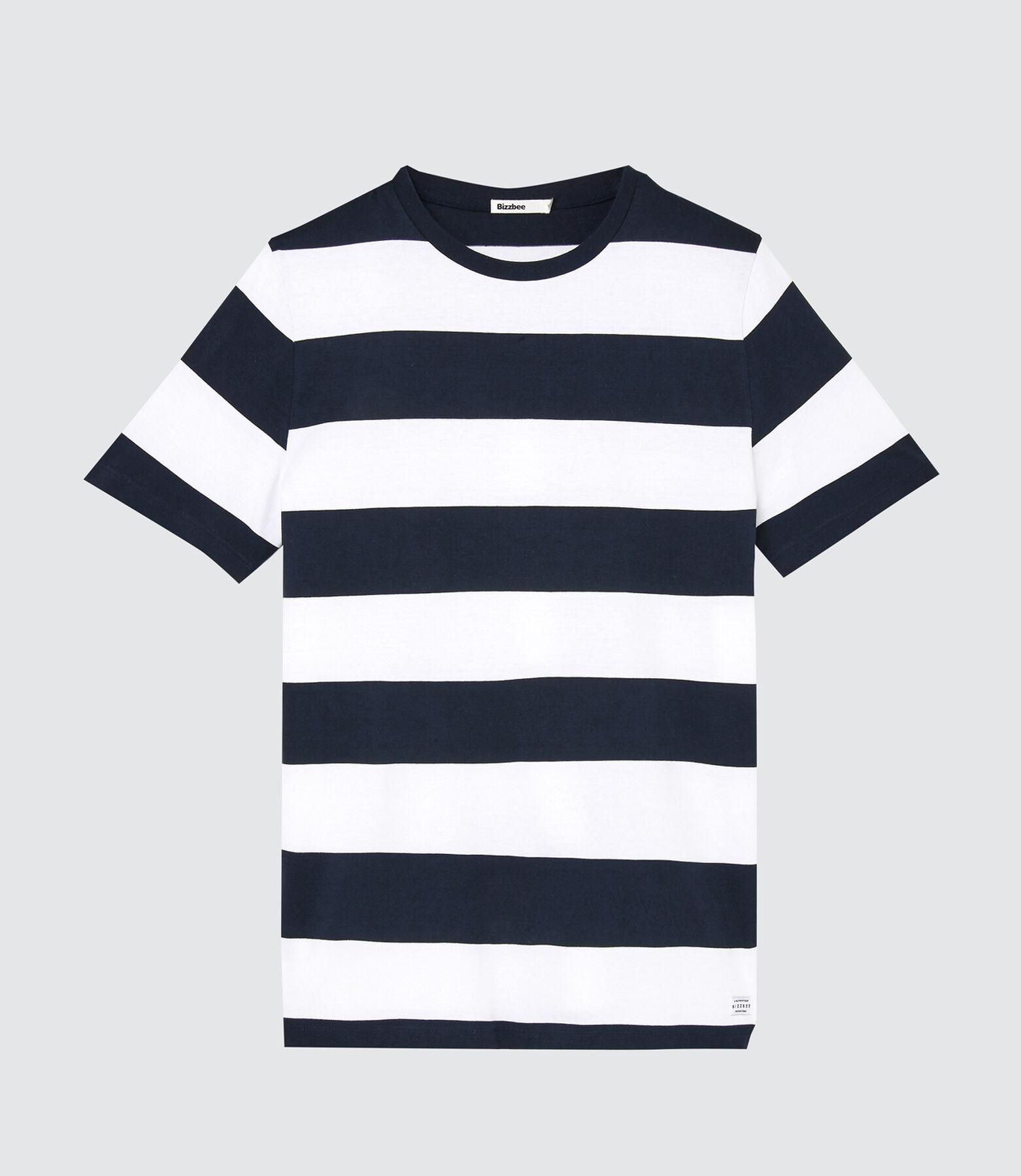 T-shirt à rayures rugby