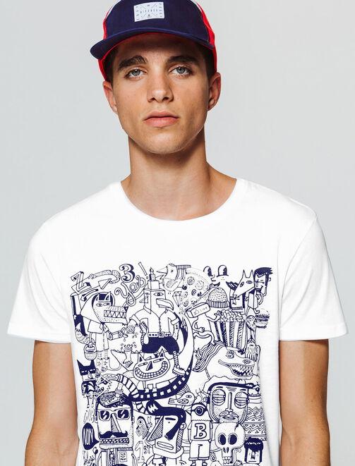 Tee-shirt imprimé Rentrée des Clash homme