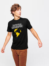 """T-shirt """"National Geographic"""" issu de l'agricultur"""