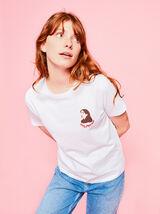 T-shirt Bizzbee x Eugenie Dbart en coton IAB