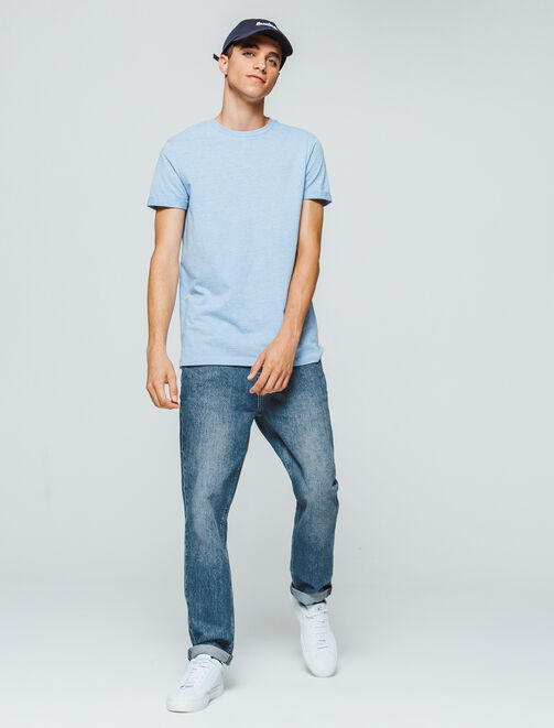 Jean straight cropped tapered homme