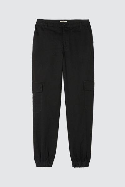 Pantalon Cargo Bas Resséré