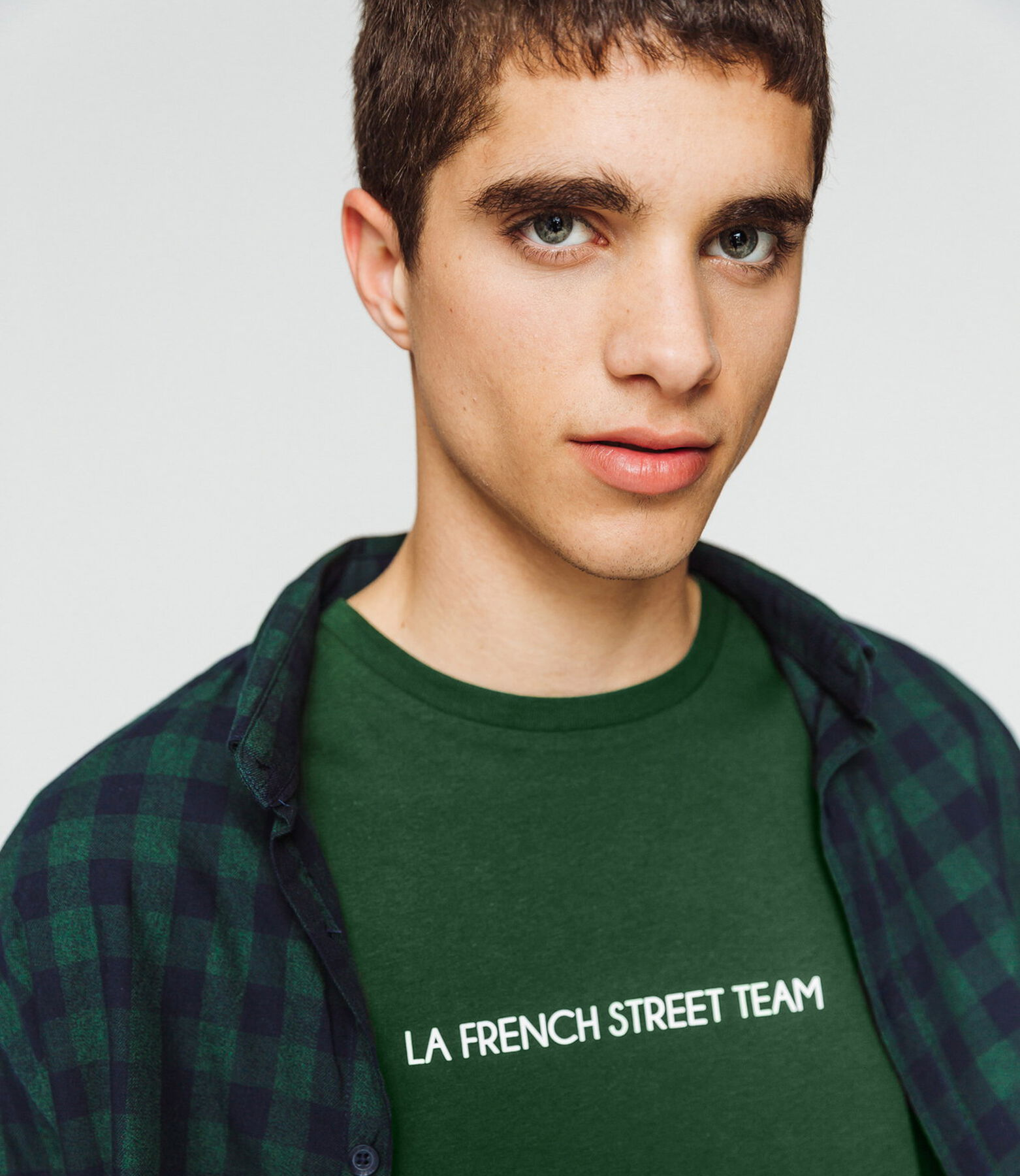 "T-shirt message ""La french street team"""