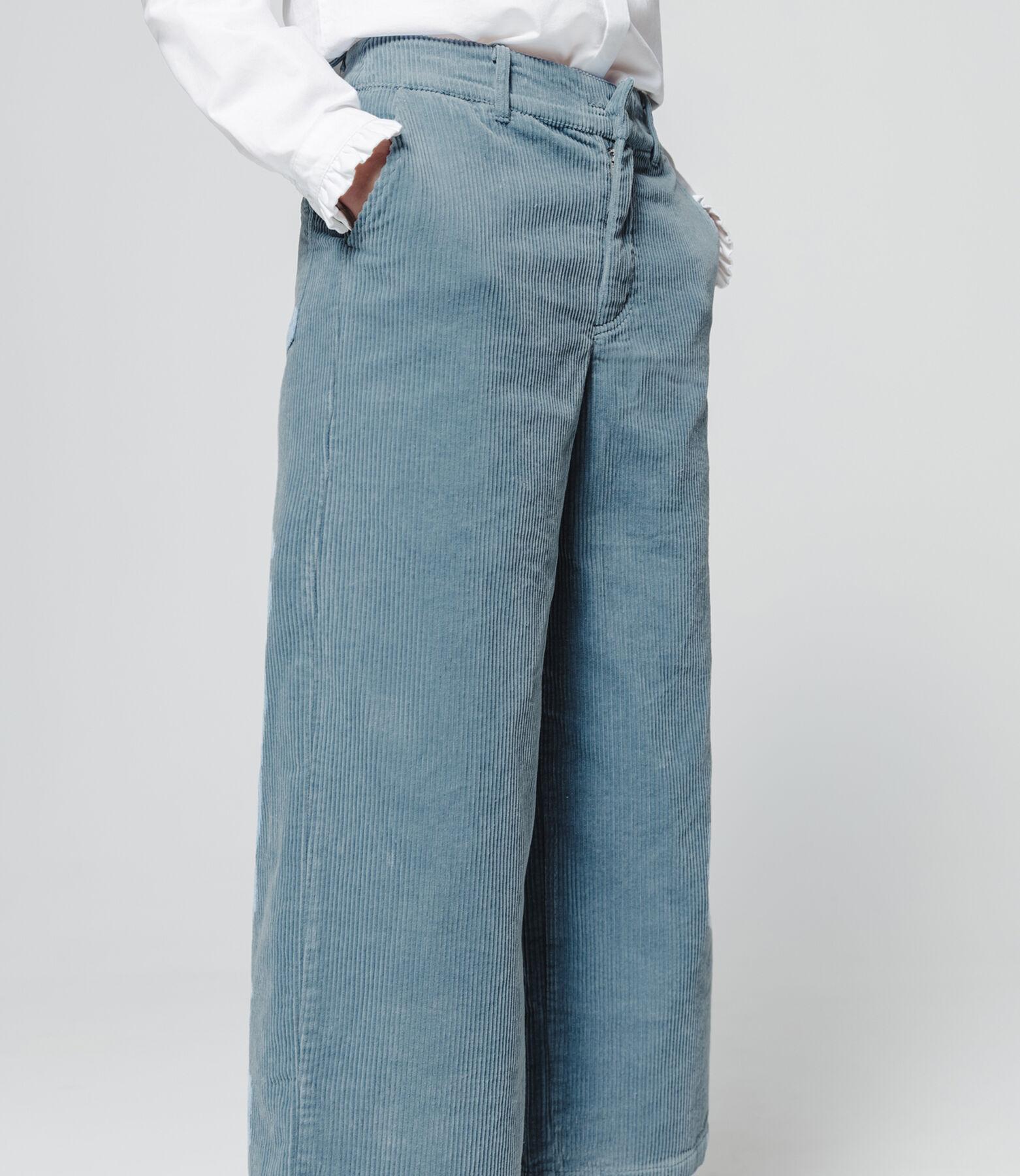 Pantalon cône velours