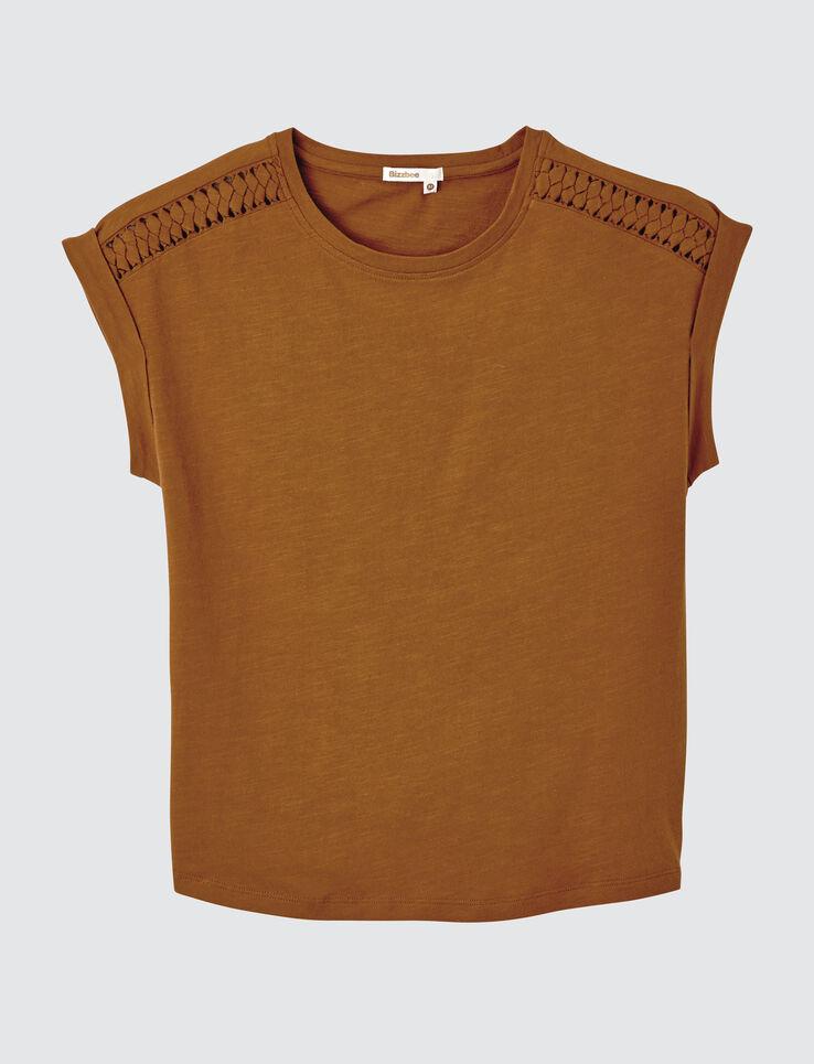 T-shirt tréssé