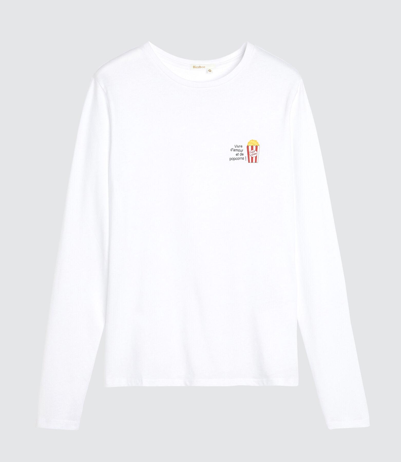 Tee Shirt Pyjama Pop Corn