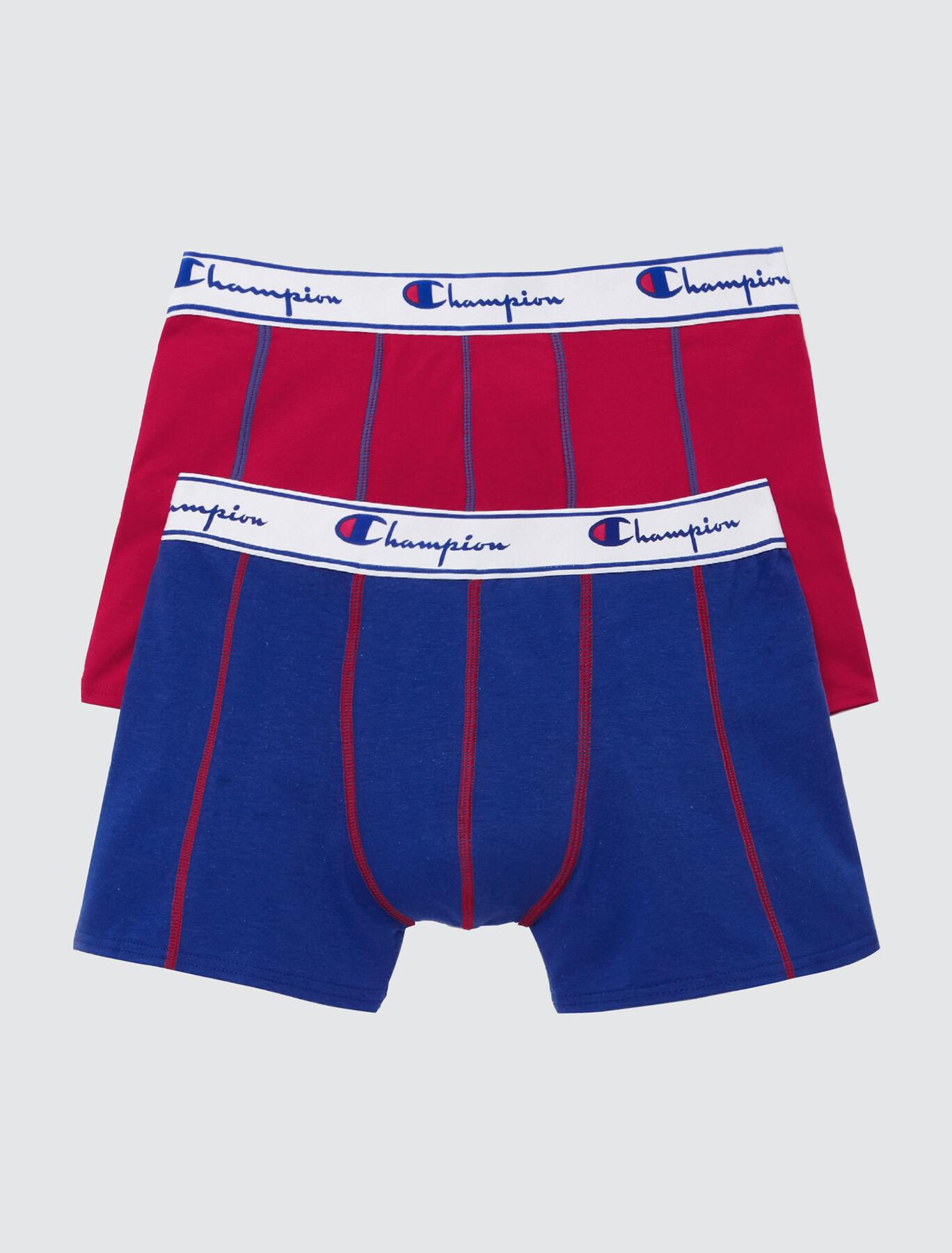 Boxers unis CHAMPION Lot*2