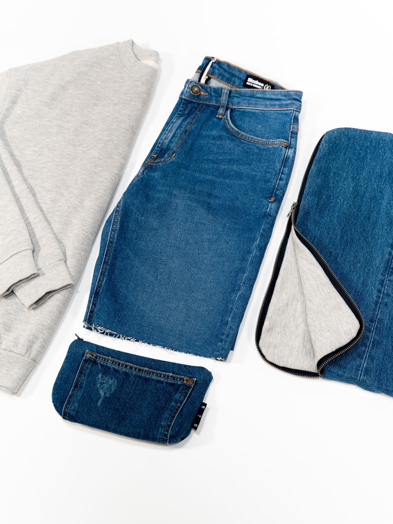 Trousse en jean