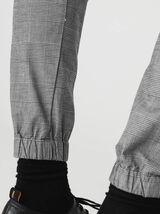 Pantalon jogger à carreaux